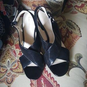 Calvin Klein jill sandals new
